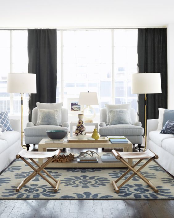 Apartment Decor To Splurge On | Area Rugs Are A Great Investment Piece
