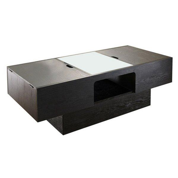 Apartment Furniture For Small Spaces | Furniture With Storage | Lansing Rectangular Coffee Table With Storage