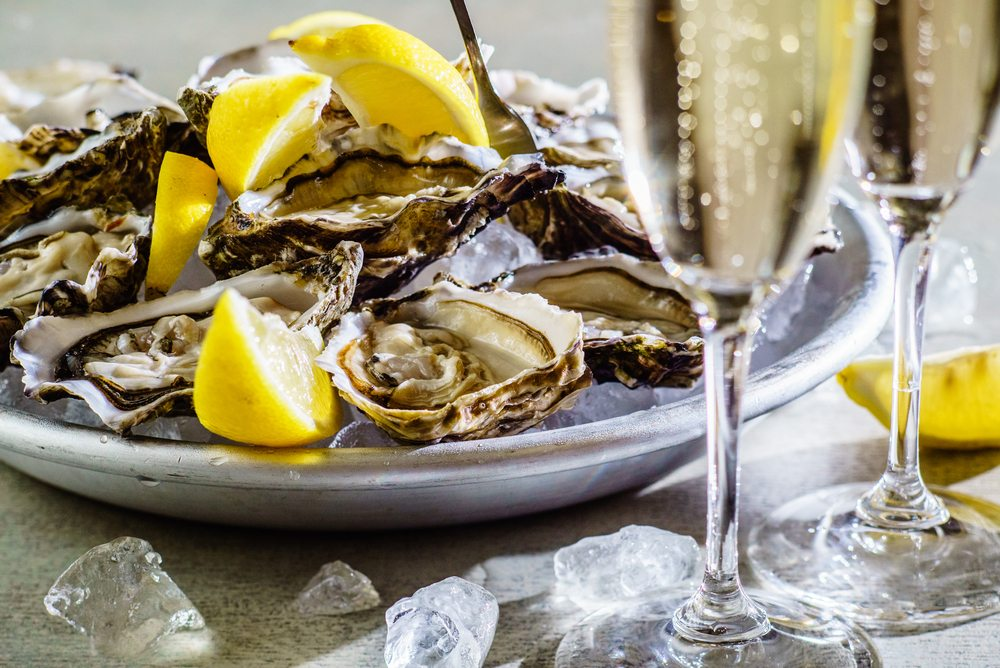 Valentine's Day Washington, DC | Champagne & Oysters At Orange Anchor