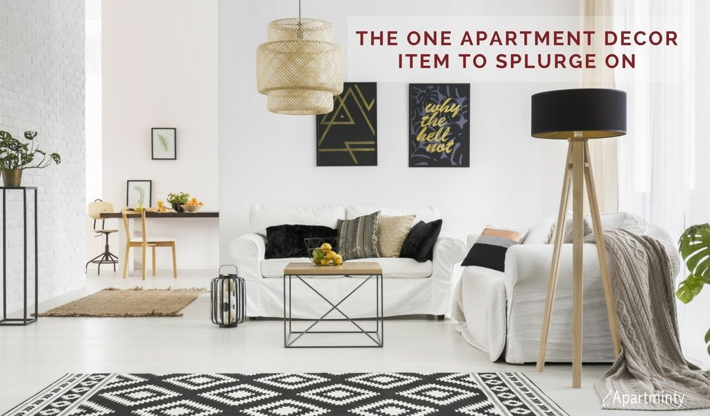 The One Apartment Decor Item To Splurge On | Decor Investment Pieces | Area Rugs