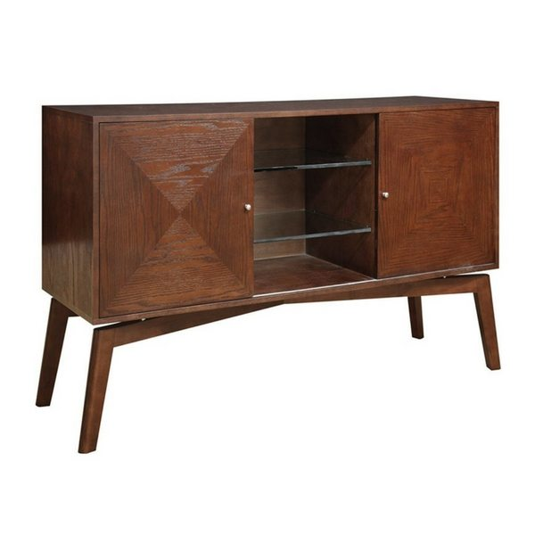 Apartment Furniture For Small Spaces | Furniture With Storage | Warm Maple Console Table