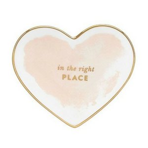 Mother's Day Gift Ideas | Kate Spade Small Heart Trinket Dish | Jewelry Tray