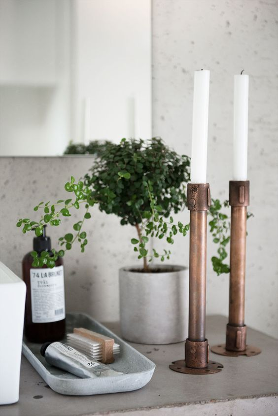 5 Things Minimalist Apartments Make Room For   Candle Holder