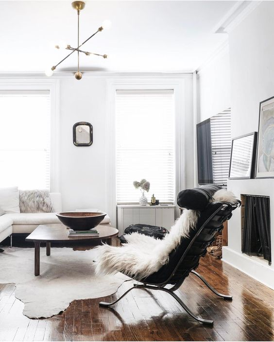 5 Things Minimalist Apartments Make Room For   Additional Seating   Statement Chair