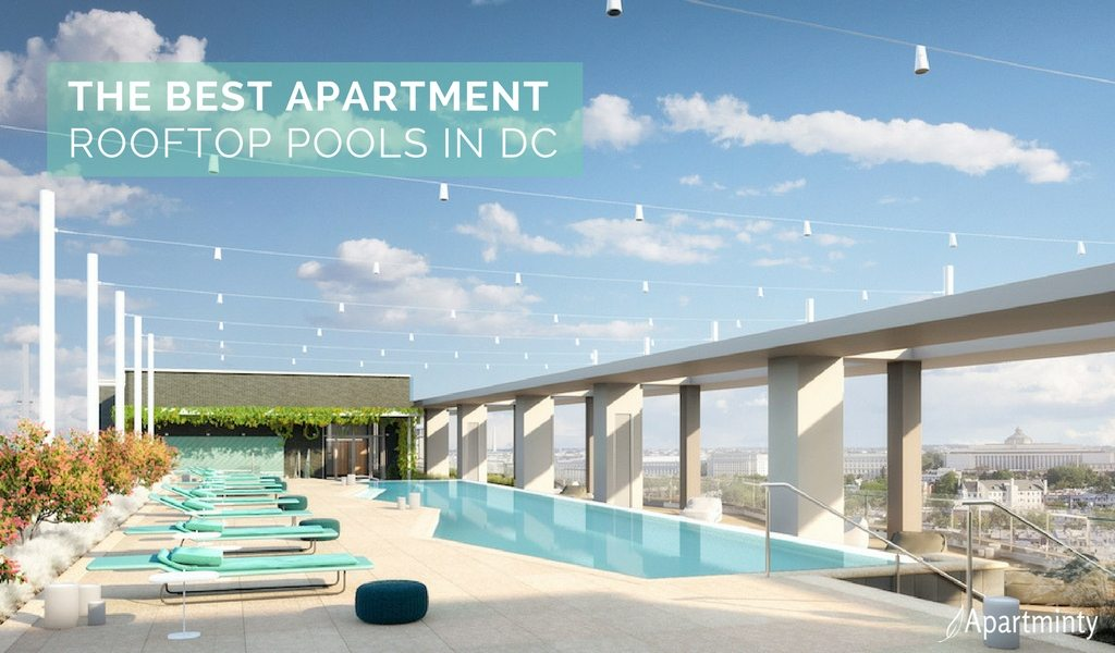 Best Apartment Rooftop Pools In DC | Luxury Apartments DC