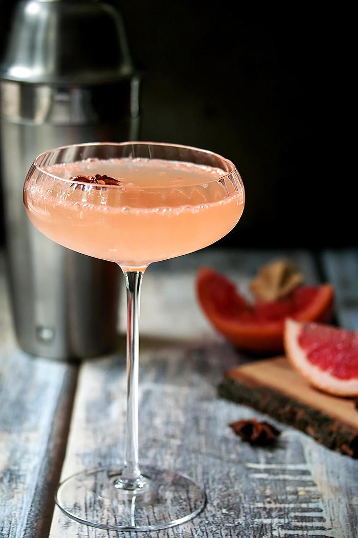 National Martini Day | Grapefruit Ginger Martini