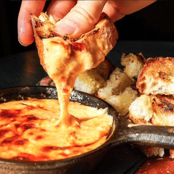 National Cheese Day In DC | Goat Cheese Fondue At The Fainting Goat