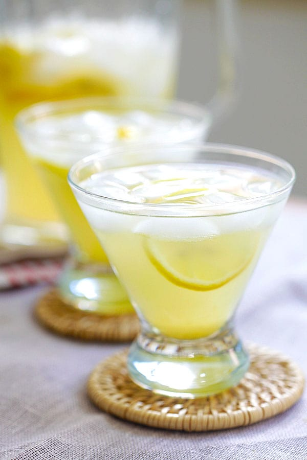 National Martini Day | Lemon Drops On The Rocks