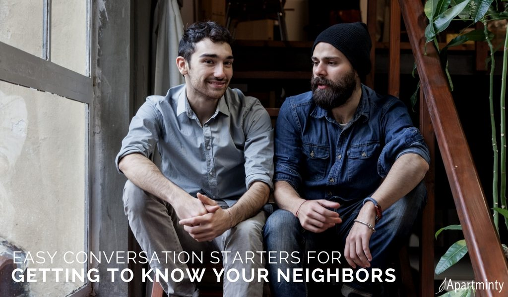 Easy Conversation Starters For Getting To Know Your Neighbors | What To Talk About At Parties