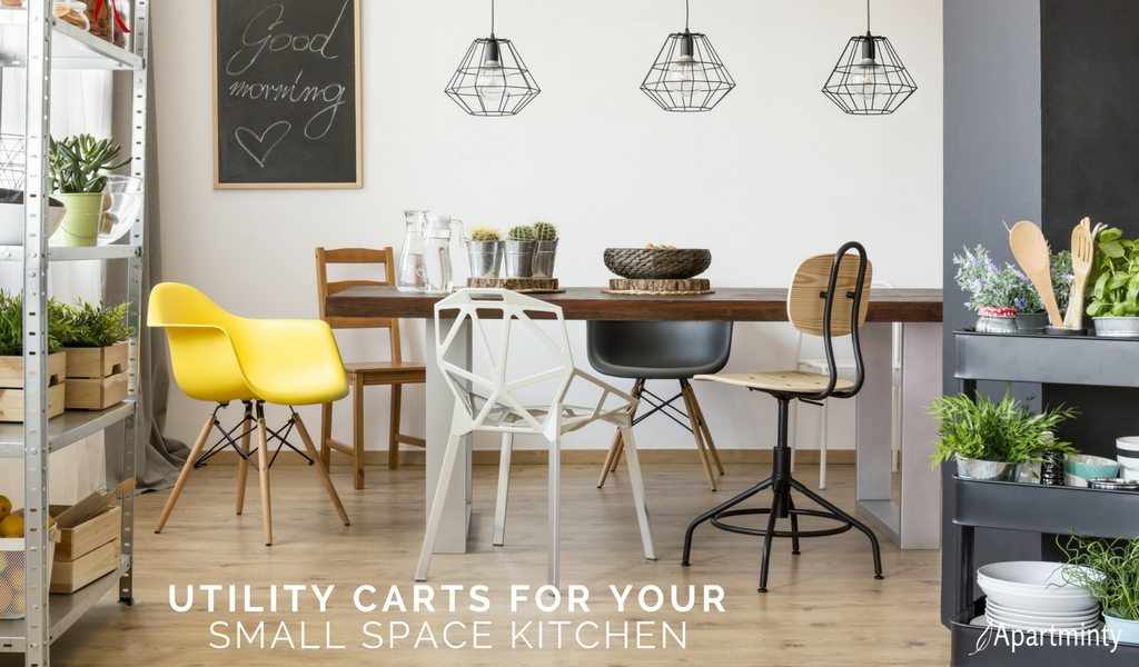 Utility Carts For Your Small Space Kitchen