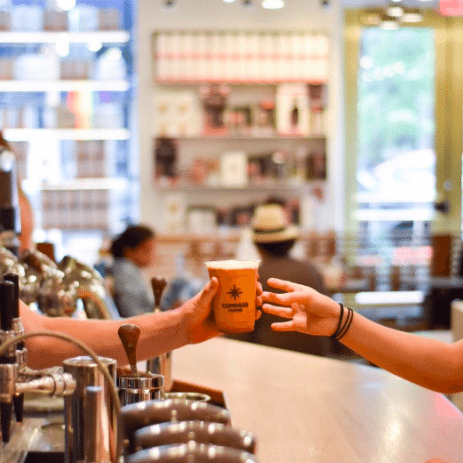 Best Coffee In DC | DC Coffee Drinks To Try | International Coffee Day | Compass Coffee DC