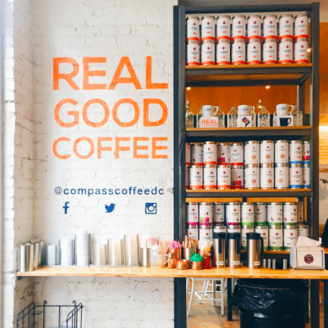 Best Coffee In DC | Unique Coffee Drinks To Try In DC | International Coffee Day | Compass Coffee DC