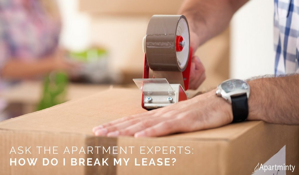 Ask The Apartment Experts: How Do I Break My Lease?