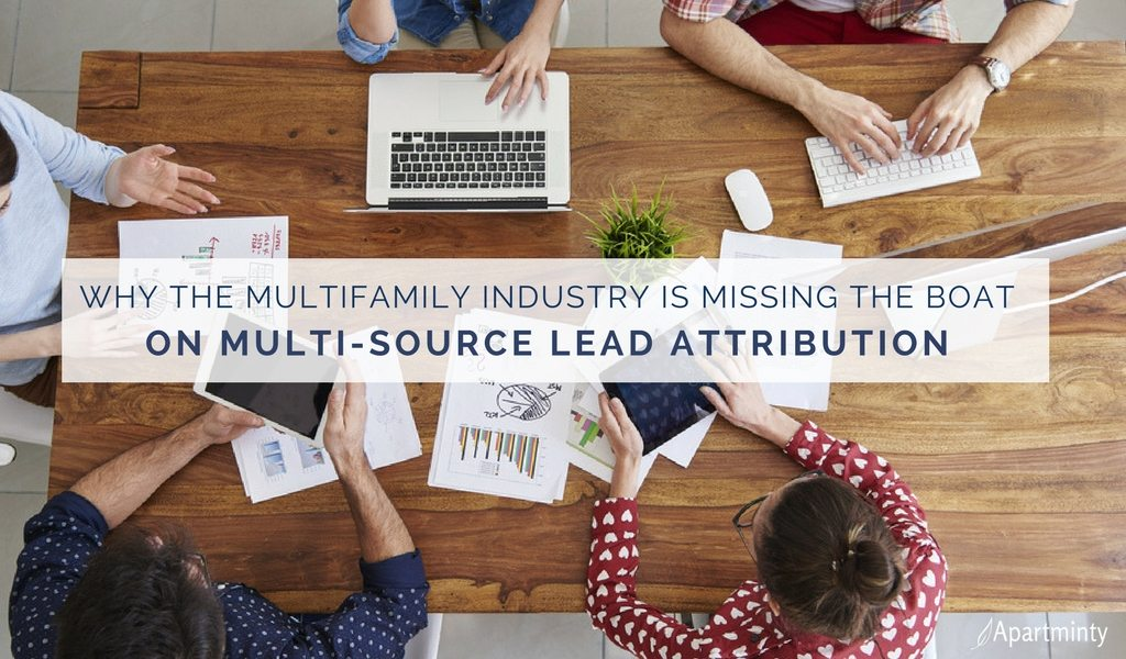Why Multifamily Needs Multi-Source Lead Attribution