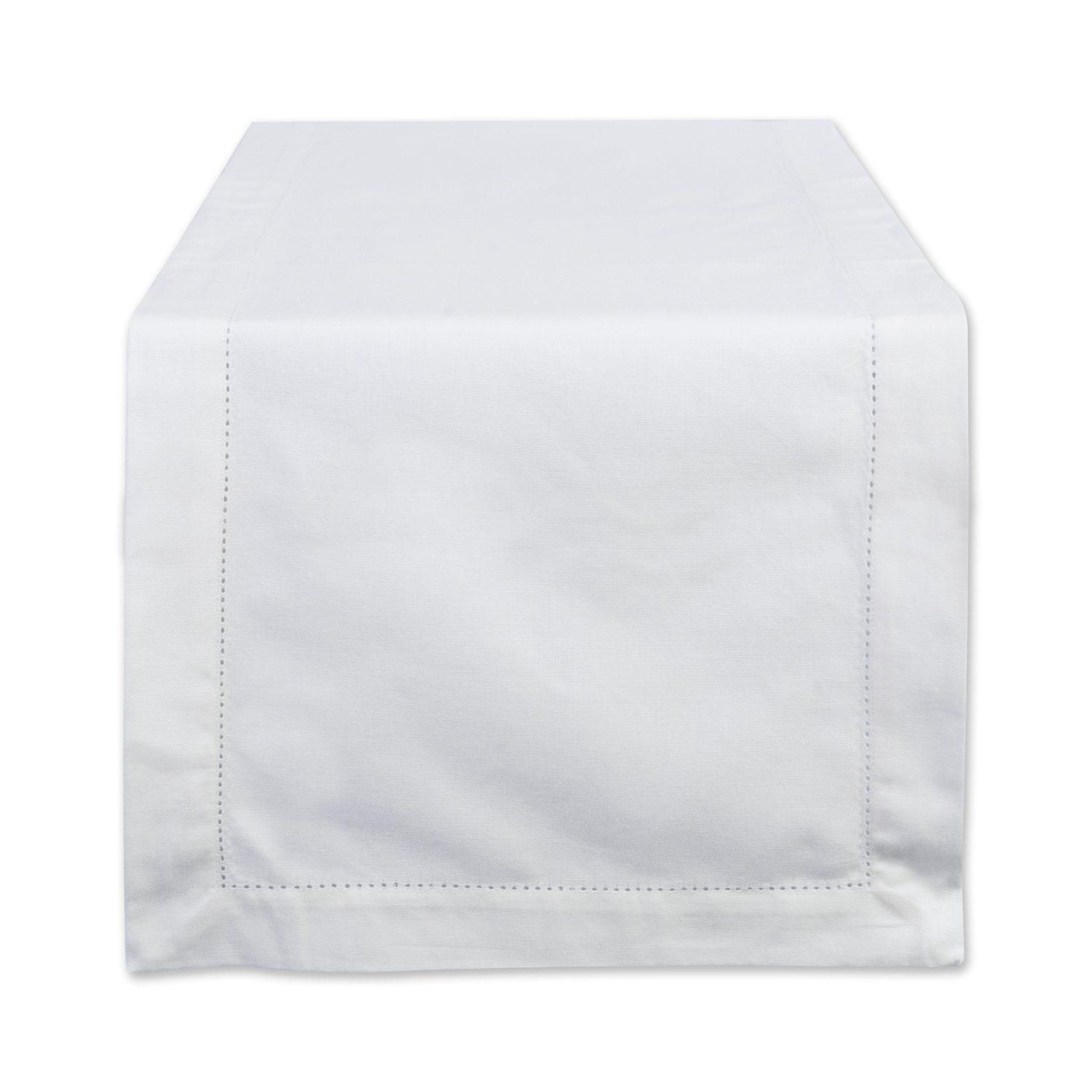 Thanksgiving Tablescape | Entertaining In Your Apartment | White Hemstitch Table Runner