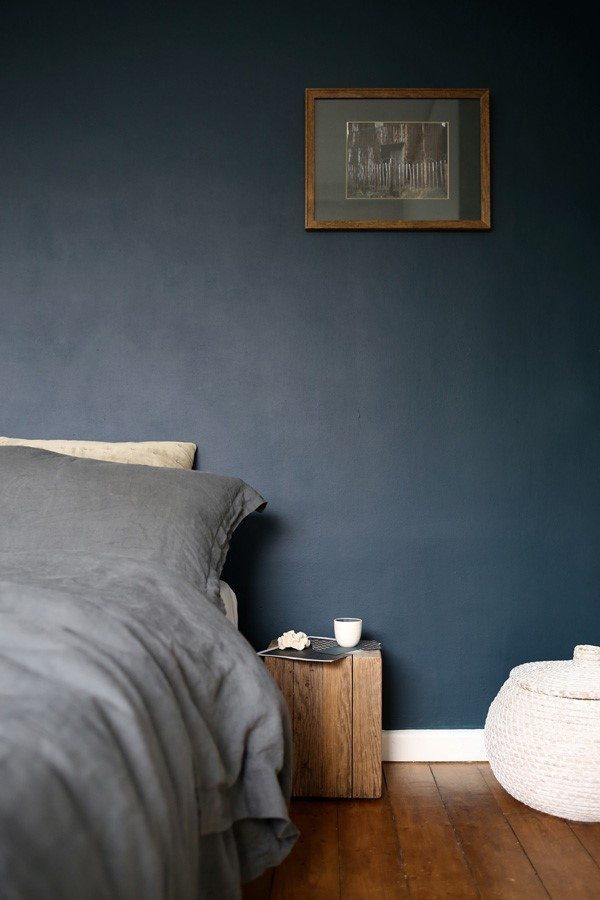 Winter Blues | Blue Decor | Blue and Grey Bedroom Inspiration