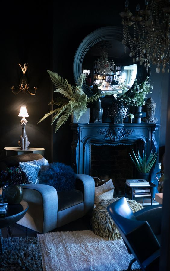 Winter Blues | Blue Decor | Blue on Blue Decor Inspiration