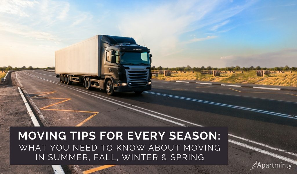 Moving Tips For Every Season