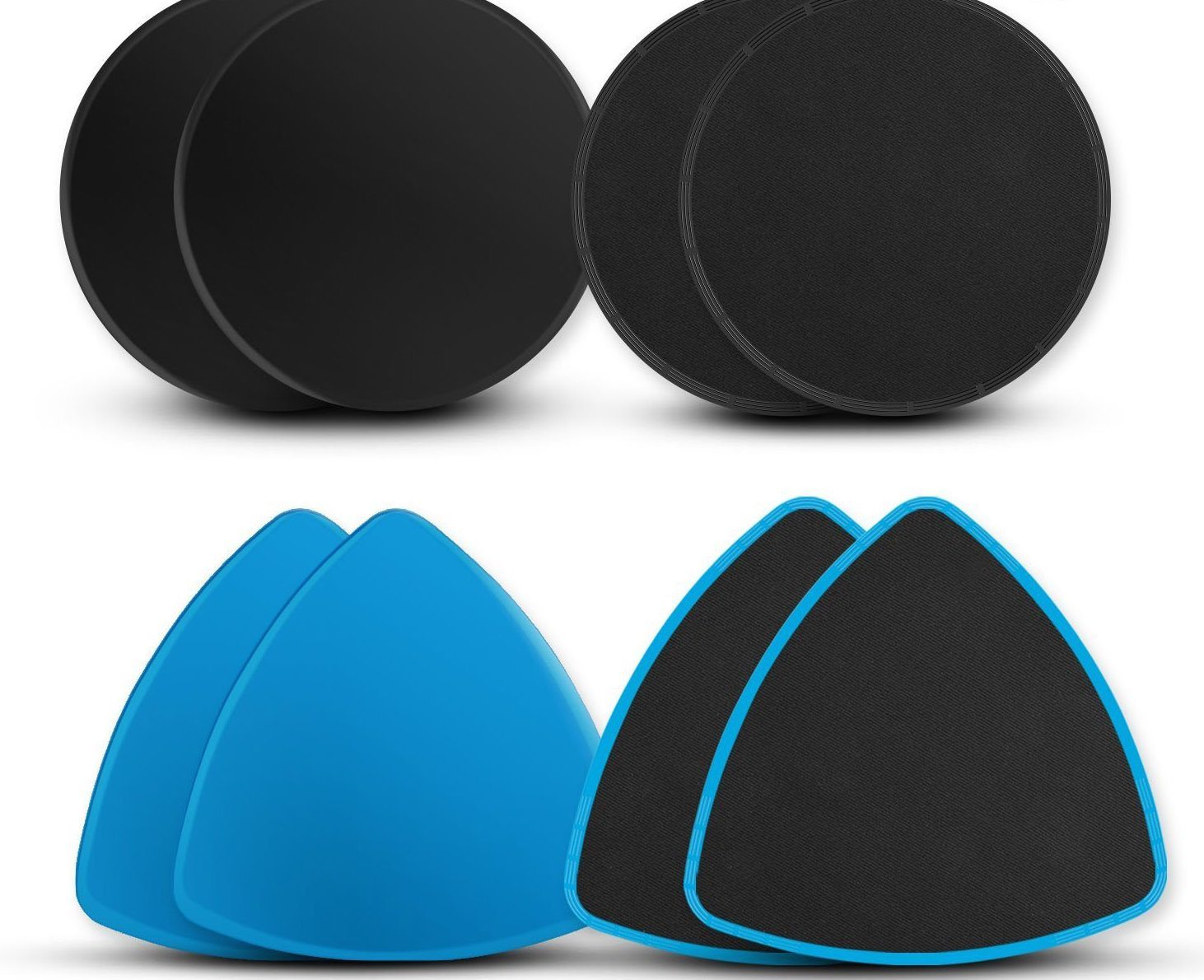 Small Space Home Fitness Equipment For Your Apartment | Gliding Disc Exercise Sliders