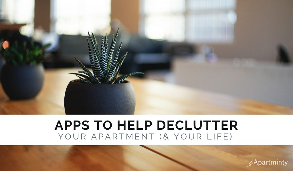 Apps To Help De-Clutter Your Apartment | Tips and Tools For Organizing