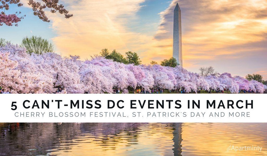 Can't Miss DC March Events 2018 | Cherry Blossom Festival, St. Patrick's Day Parade and More