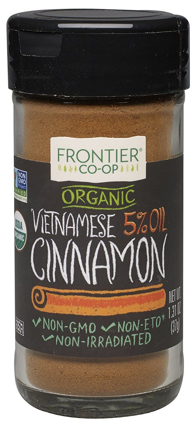 Apartminty Fresh Picks | Tea and Coffee Additions | Ground Organic Vietnamese Cinnamon For Wellness