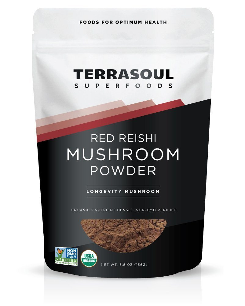 Apartminty Fresh Picks | Tea & Coffee Additions | Organic Red Reishi Mushroom Powder For Wellness