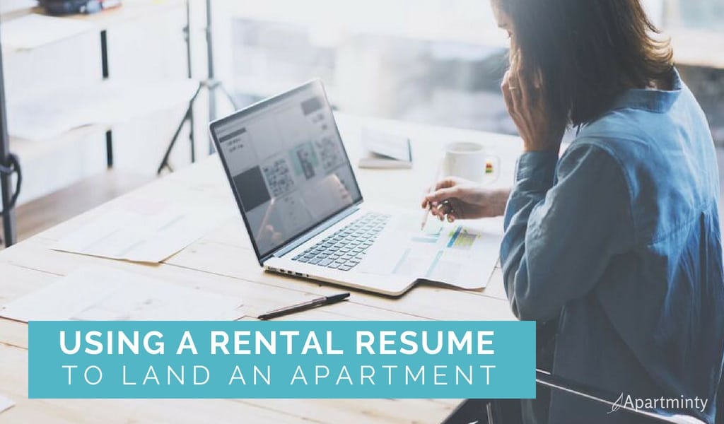 Using a Rental Resume to Land an Apartment