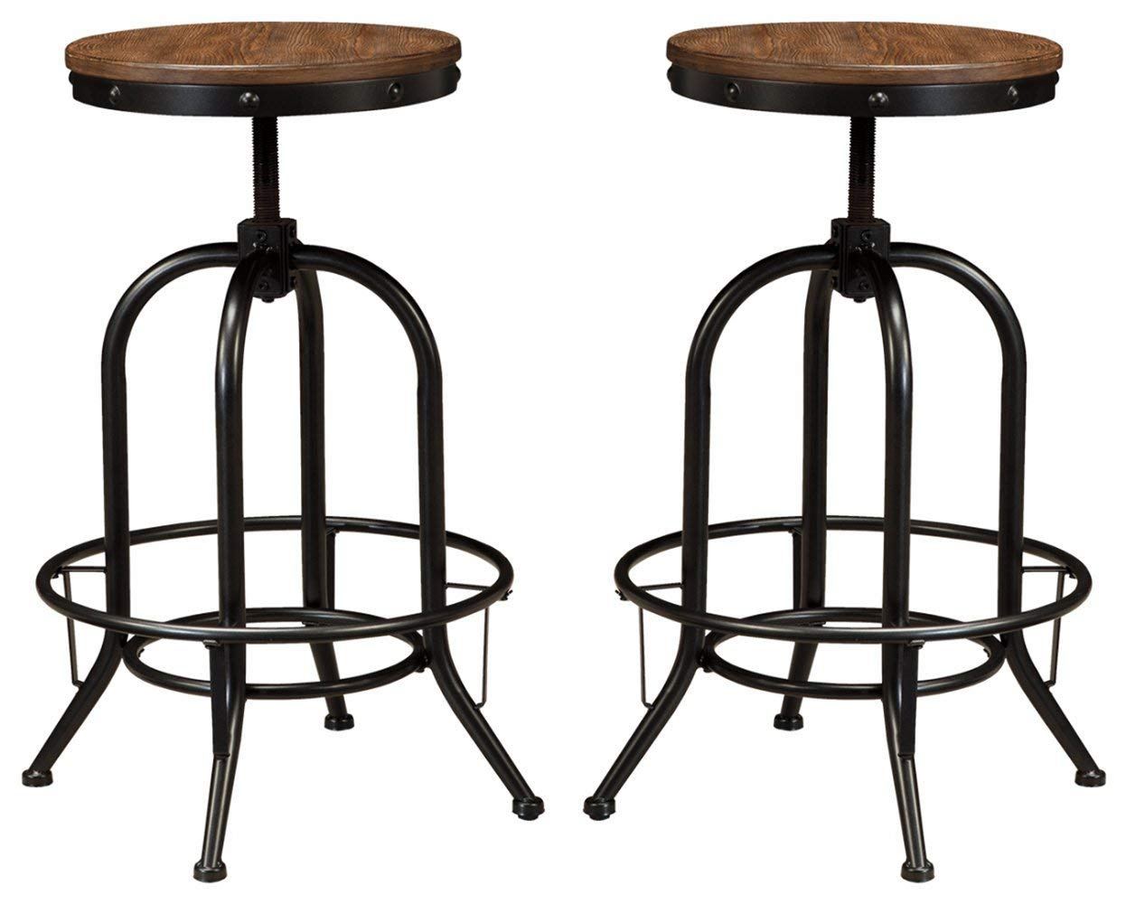 Farmhouse Vibes | Apartment Decor | Rustic Bar Stools