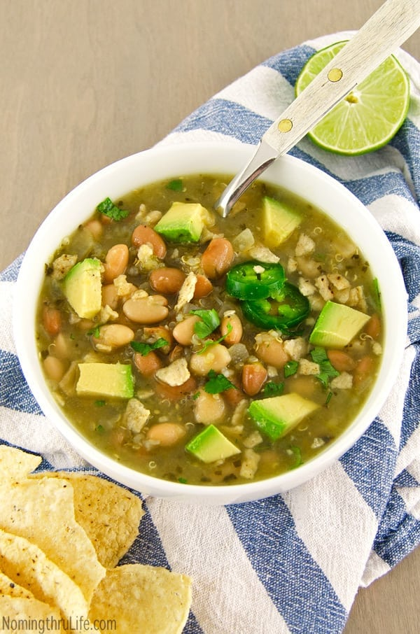 Protein-Packed Vegetarian Recipes | Quinoa Chili Verde