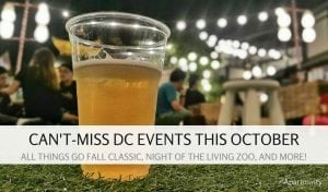 Can't Miss DC Events This Month
