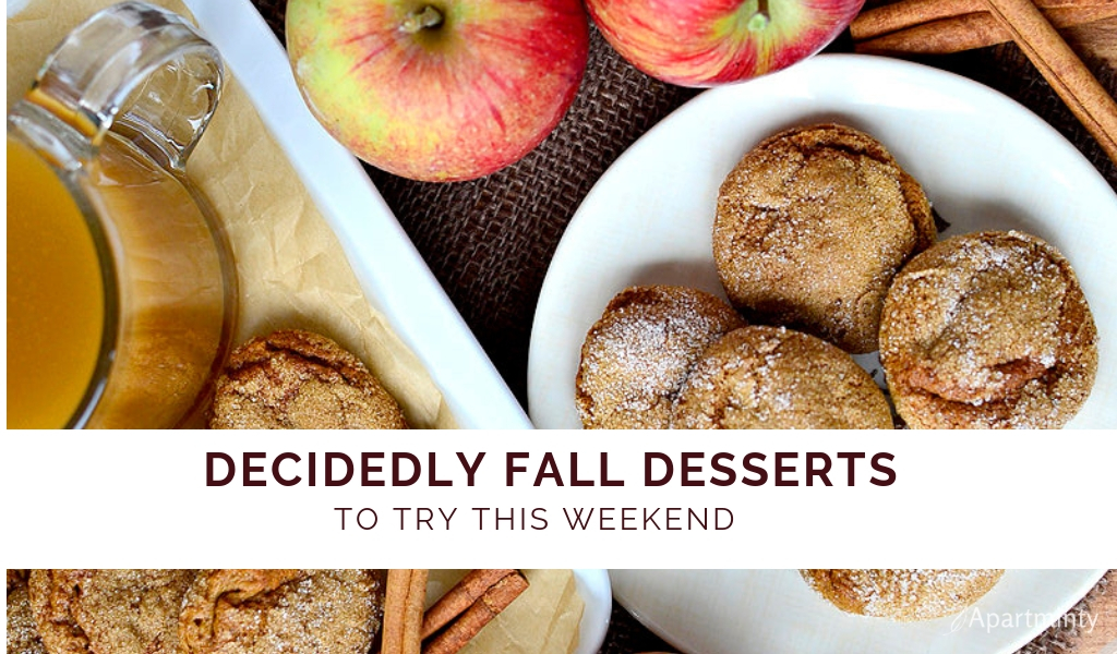 FALL FLAVORS | FALL DESSERT recipes