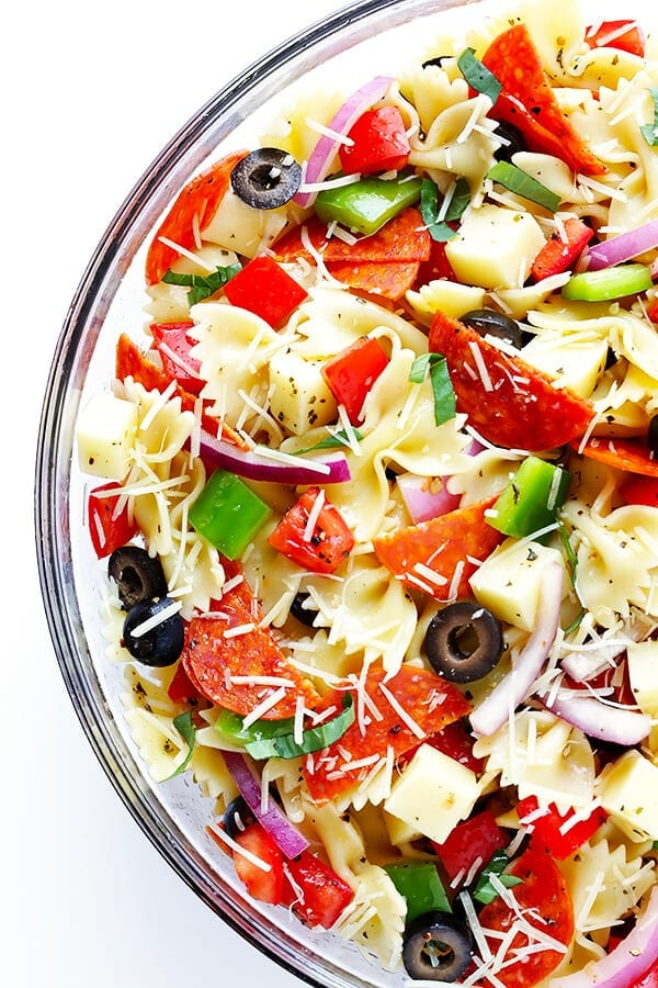 Make-Ahead Recipes | Meal Prep Guide | Pizza Pasta Salad