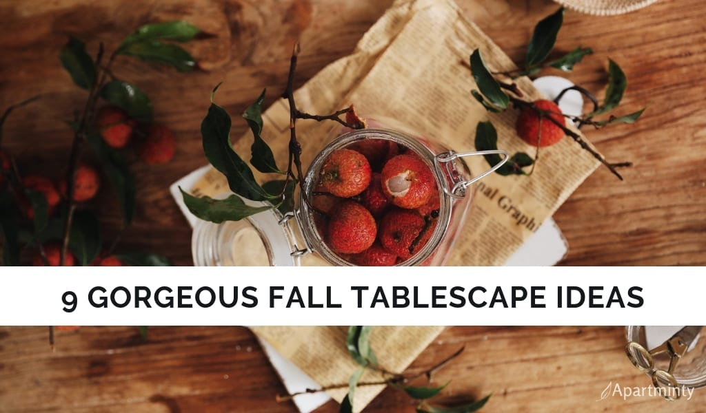 Fall Tablescape Inspiration