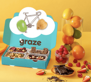 Healthy Snacks with Graze Subscription Box