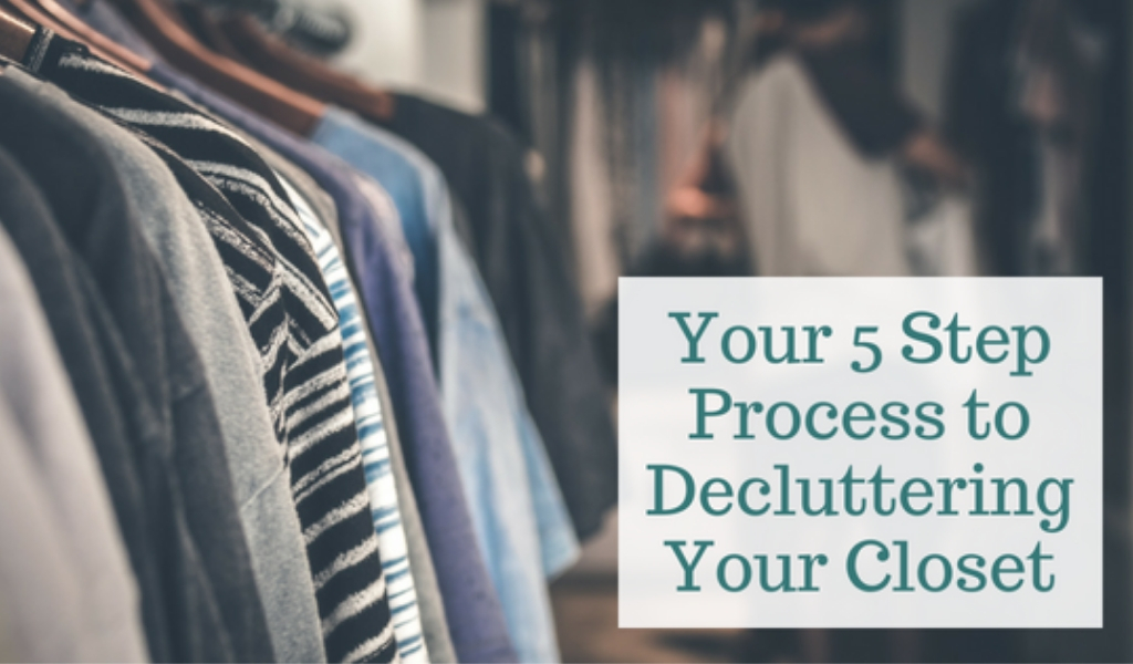 5-Step-Process-to-Decluttering-Your-Closet