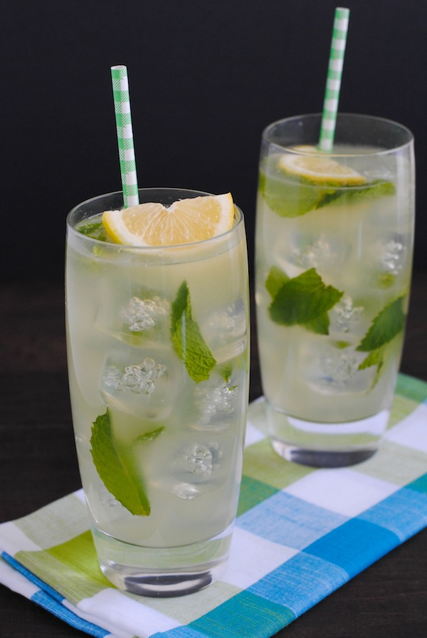 Mocktails | Honey Mint Lemonade