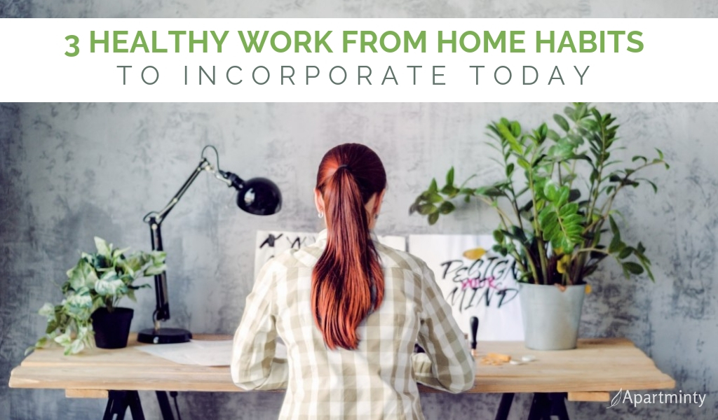 3 Healthy Work from Home Habits to Incorporate