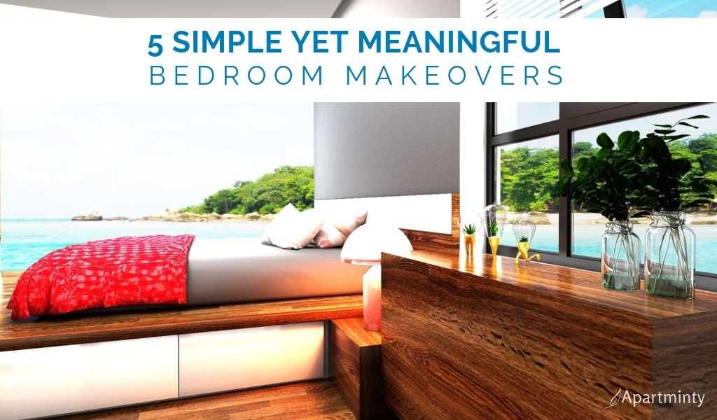 5 Simple yet meaningful bedroom makeovers