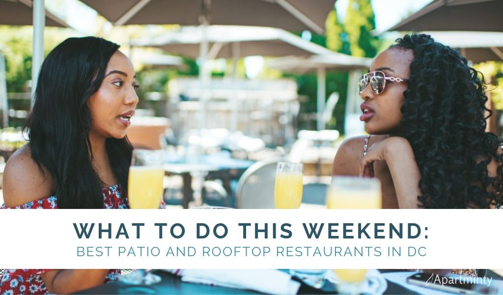 Best Patio and Rooftop Restaurants in DC