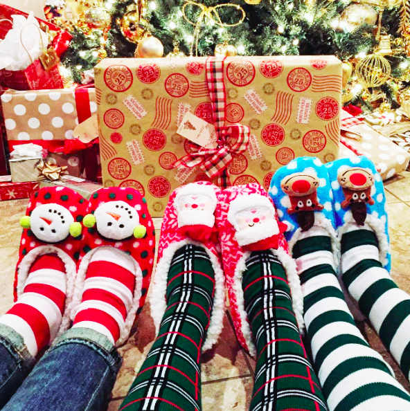 Holiday Gifts | Christmas Socks | Chrissy's Christmas Socks