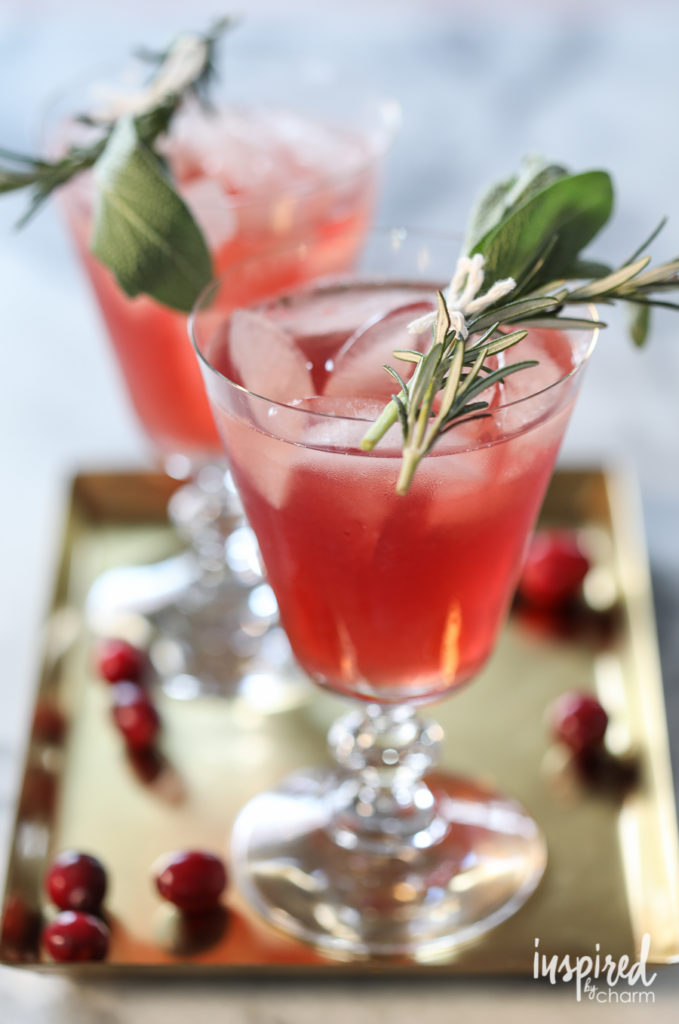 cranberry-boubon-herb-cocktail