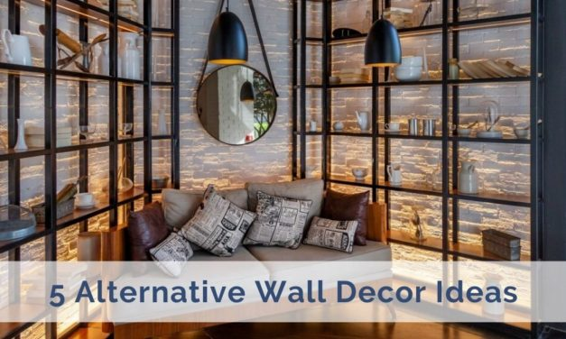 5 Alternative Wall Decor Ideas