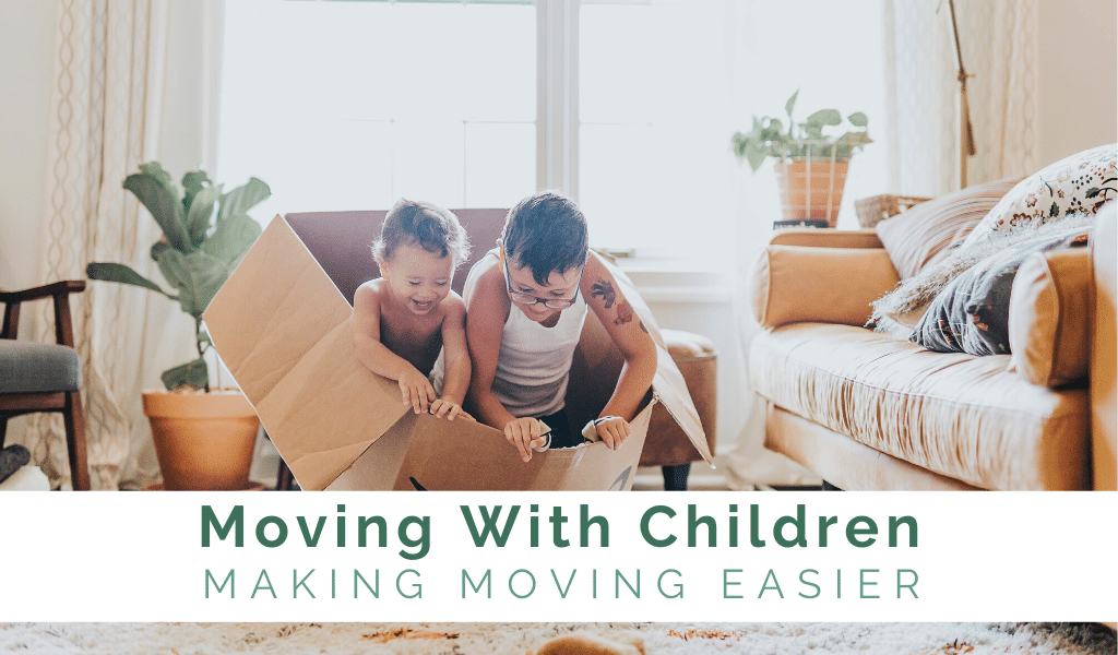 moving tips to make moving with children easier