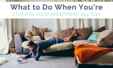 Things To Do While You're Stuck In Your Apartment
