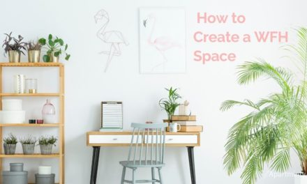 Out of Office: How to make a work from home space without a spare room